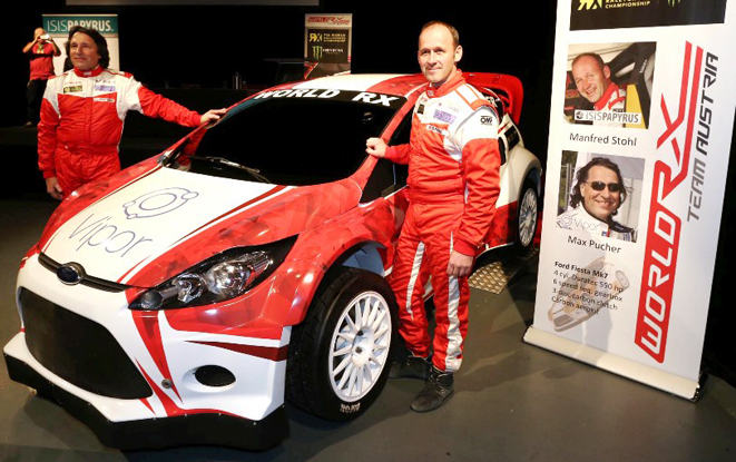 WM-COMEBACK VON MANFRED STOHL,MAX  PUCHER, MANFRED STOHL, FORD F