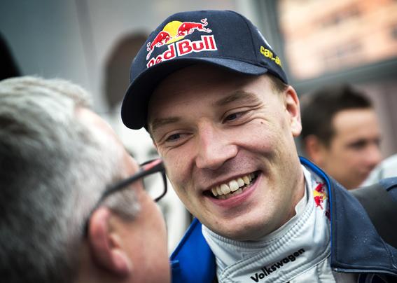 Jari-Matti Latvala, VW Motorsport i samband med Rallye Monte Carlo