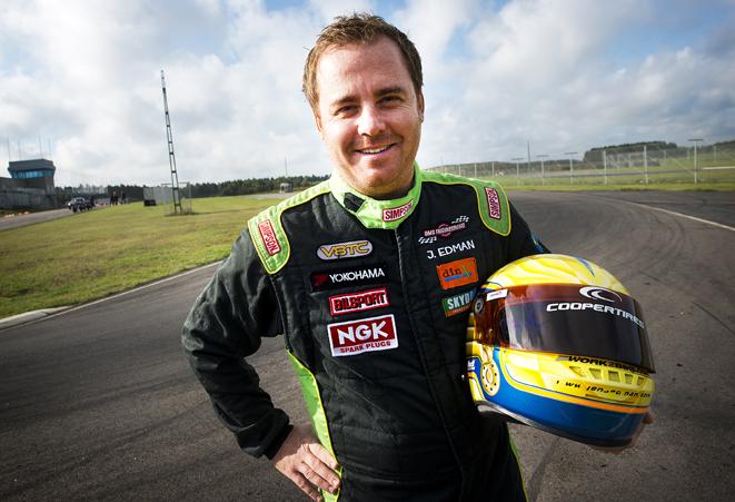 Jens Edman, Norra Åsum. Svensk Mästare i racingklassen V8 Thunder Cars