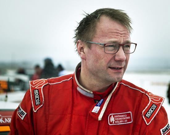Förvånad segrare i Östersund Winter Rally, Thomas Thunström