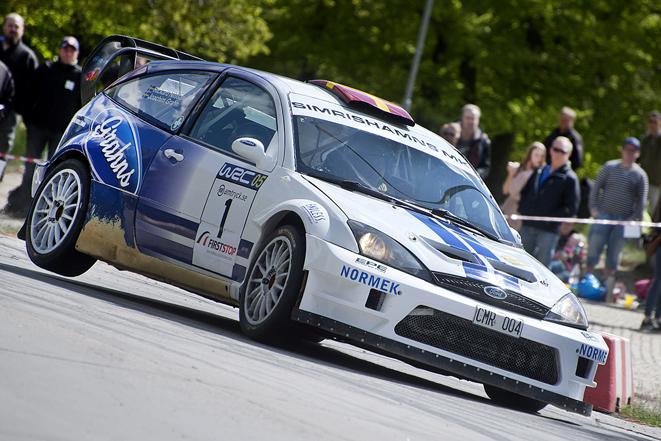 Lille Mats Rallysprint, Joachim Grahn slutade fyra