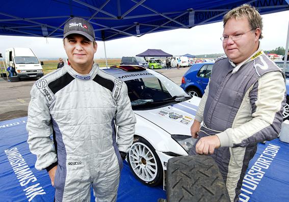 Rickard Nilsson och Joachim Grahn, Simrishamns MK.