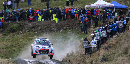 2015 World Rally Championship / Round 13 / Rally of Wales GB // 12th - 15th November, 2015 // Worldwide Copyright: Hyundai Motorsport