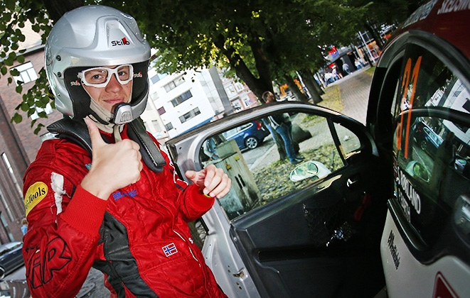 31 ROKLAND Steve BARTH Patrik Peugeot 208 VTi R2 ambiance during the 2015 European Rally Championship ERC Estonia Rally, from July 17th to 20th 2015 at Tallinn, Estonia. Photo Gregory Lenormand / DPPI