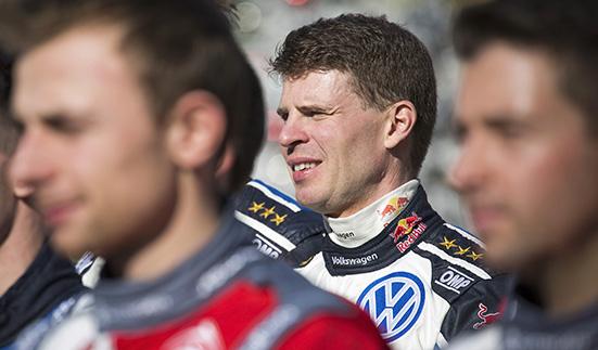 Miikka Anttila (FIN) WRC Rallye Monte Carlo 2016