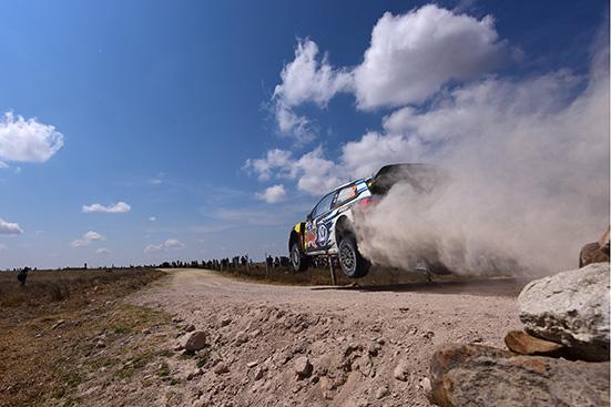 Jari-Matti Latvala (FIN), Miikka Anttila (FIN) Volkswagen Polo R WRC (2015) WRC Rally Mexico 2015