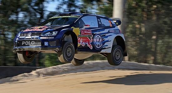 Jari-Matti Latvala (FIN), Miikka Anttila (FIN) Volkswagen Polo R WRC (2015) WRC Rally Portugal 2015