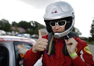 31 ROKLAND Steve BARTH Patrik Peugeot 208 VTi R2 ambiance during the 2015 European Rally Championship ERC Estonia Rally, from July 17th to 20th 2015 at Tallinn, Estonia. Photo Francois Flamand / DPPI