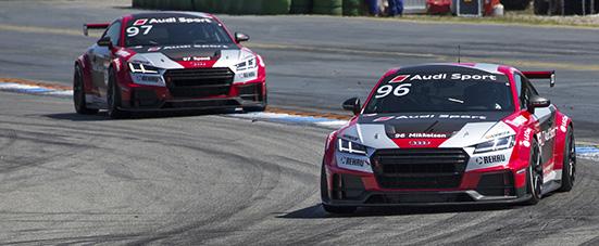 Andreas Mikkelsen (N) Audi Sport TT-Cup - 01 Hockenheimring 2016