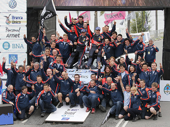 2016 FIA World Rally Championship / Round 04 /  Rally Argentina // April 21-24, 2016 // Worldwide Copyright: Hyundai Motorsport