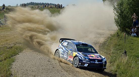 Sébastien Ogier (F), Julien Ingrassia (F) Volkswagen Polo R WRC (2016) WRC Rally Poland 2016