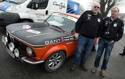 The Winter Trial är ett rally för klassiska rallybilar mellan Köpenhamn och Oslo. Norrmännen Thorbjörn Bye och Oddvar Moland med sin BMW 202Tii