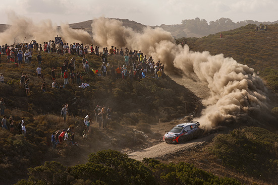 2016 FIA World Rally Championship / Round 06 /  Rally d'Italia Sardegna // June 09-12, 2016 // Worldwide Copyright: Hyundai Motorsport
