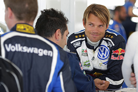 Andreas Mikkelsen (NOR) WRC Rally Poland 2016