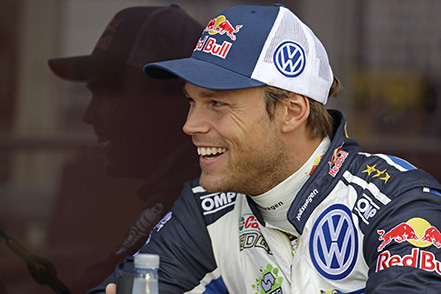 Andreas Mikkelsen (NOR) WRC Rally Germany 2016