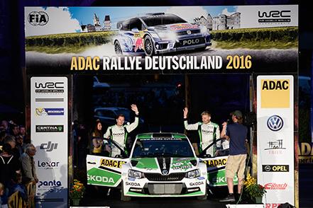 FIA WORLD RALLY CHAMPIONSHIP 2016 -WRC Deutschland (GER) - WRC 18/08/2016 to 21/08/2016 - PHOTO : @World
