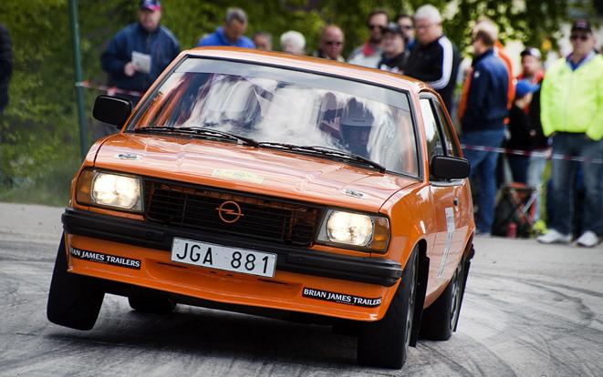 Lille Mats Rallysprint, Rolf Grybb blev bäste hemmaförare i 2WD-klassen med sin åttonde plats.