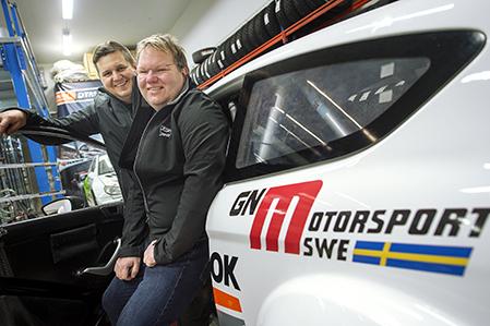 Joachim Grahn och Rickard Nilsson, Åhuskärr ska köra rally i Holland