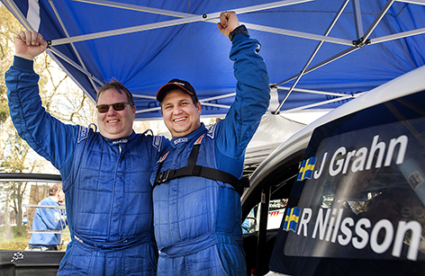 Joachim Grahn/Rickard Nilsson vann Hässleholms