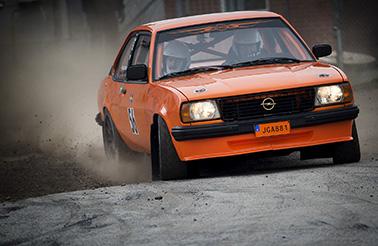 Rolf Grybb och Elias Olbers, Hässleholms Mk slutade trea totalt i Express-Specialen i hörby
