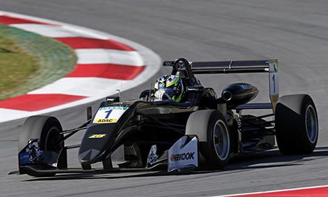 1 Joel Eriksson (SWE, Motopark, Dallara F317 - Volkswagen), FIA Formula 3 European Championship Test Spielberg (AUT) - 28. - 29. March 2017
