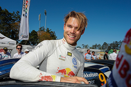 Andreas Mikkelsen (NOR) Volkswagen Polo R WRC (2016) WRC Rally Australia 2016 Photo: Toni Welam