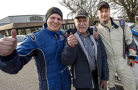 Stoffe Nilsson, Tommy Nilsson och Jesper Johansson vann Simrishamnsmixen