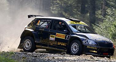 Fredrik Ahlin / Torstein Eriksen Skoda Fabia R5