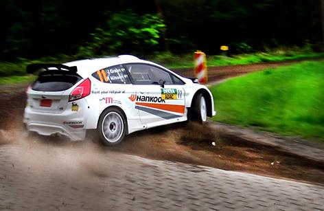 Joachim Grahn/Rickard nilsson i tyska Rallye Sulingen