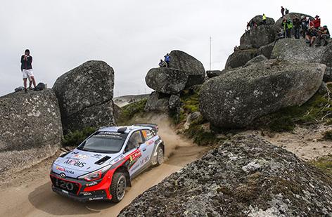 2016 FIA World Rally Championship / Round 05 /  Rally Portugal / May 19-22, 2016 // Worldwide Copyright: Hyundai Motorsport