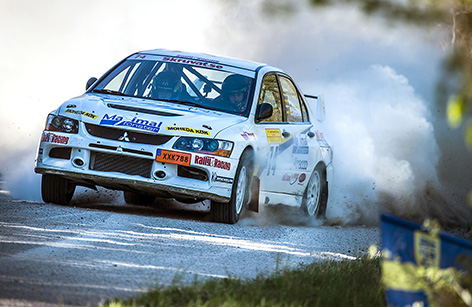 Emil Bergkvist, Hofors i South Swedish Rally