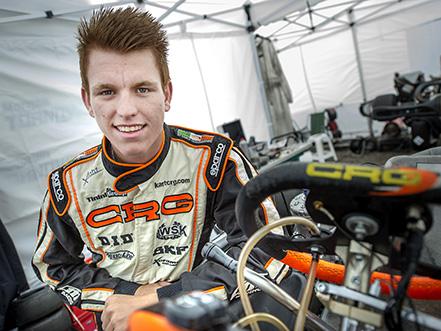 Benjamin Törnqvist, Kristianstad Kartingklubb i KZ2