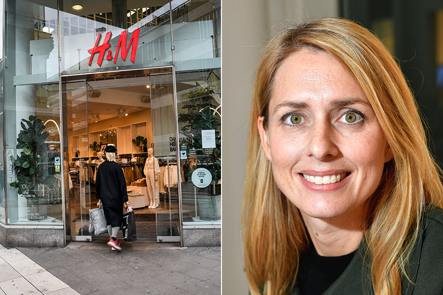 H&M:s VD Helena Helmersson.