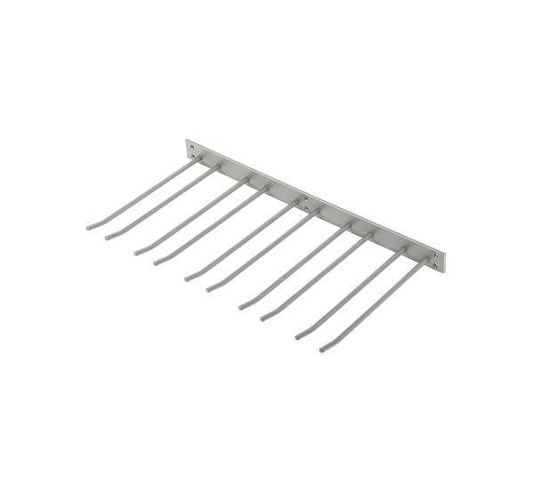 Glashängare Grå Struktur 50x30cm Vägghängd