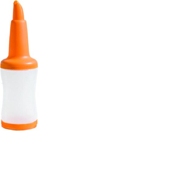 Freepour Flaska 1L Orange Urban Bar