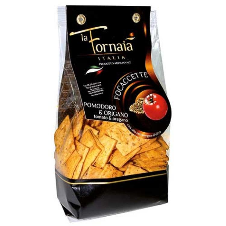 Focacette Tomat & Oregano 200g Bonta Lucane