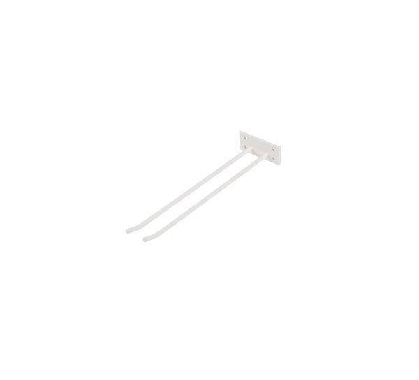 Glashängare Vit Struktur 40cm Vägghängd