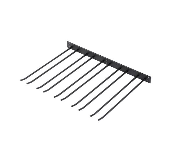 Glashängare Svart Struktur 50x40cm Vägghängd