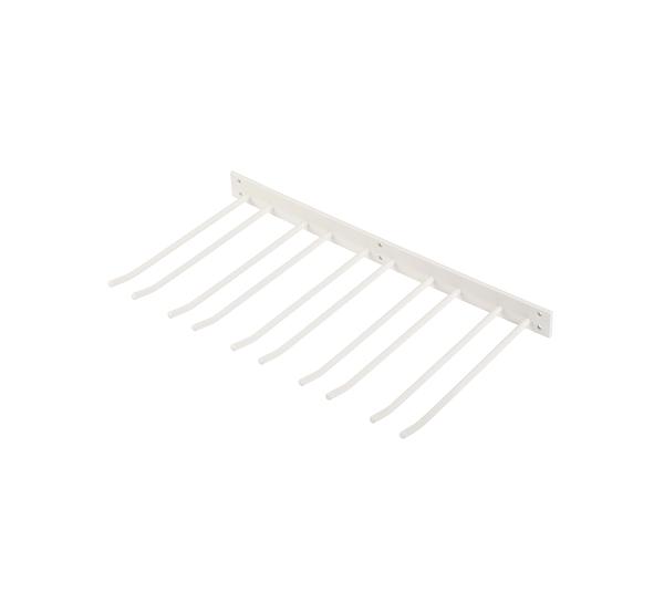 Glashängare Vit Struktur 50x30cm Vägghängd