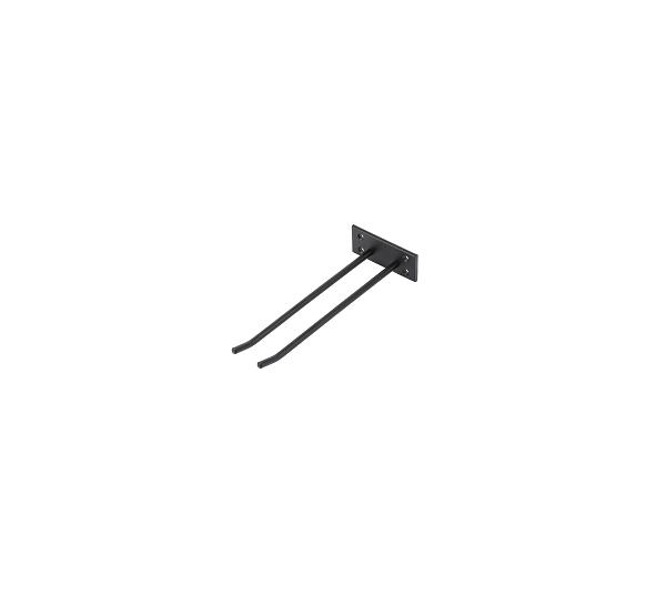 Glashängare Svart Struktur 30cm Vägghängd