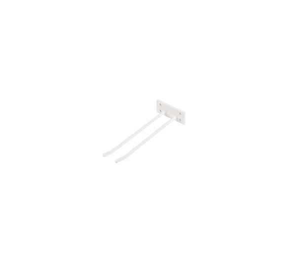 Glashängare Vit Struktur 30cm Vägghängd