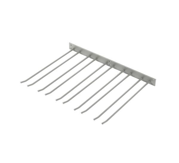 Glashängare Grå Struktur 50x40cm Vägghängd
