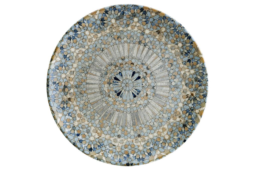 Bonna Luca Mosaik Tallrik Flat 27cm 6-Pack