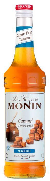 Monin Sockerfri Caramel 70cl