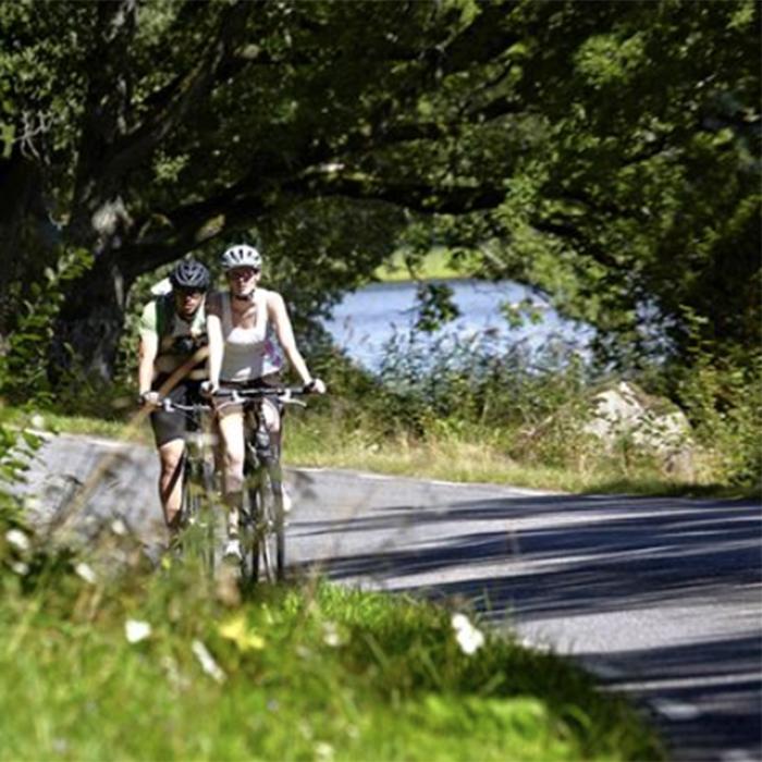 Fahrradweg Fjordrundan