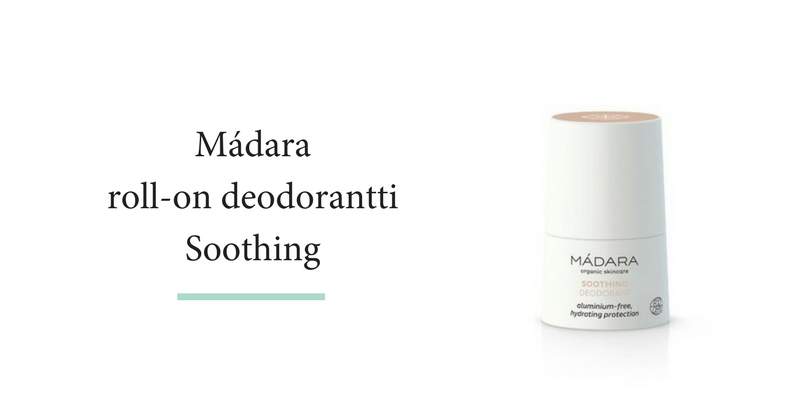 MADARA SOOTHING DEODORANT -RAUHOITTAVA DEODORANTTI