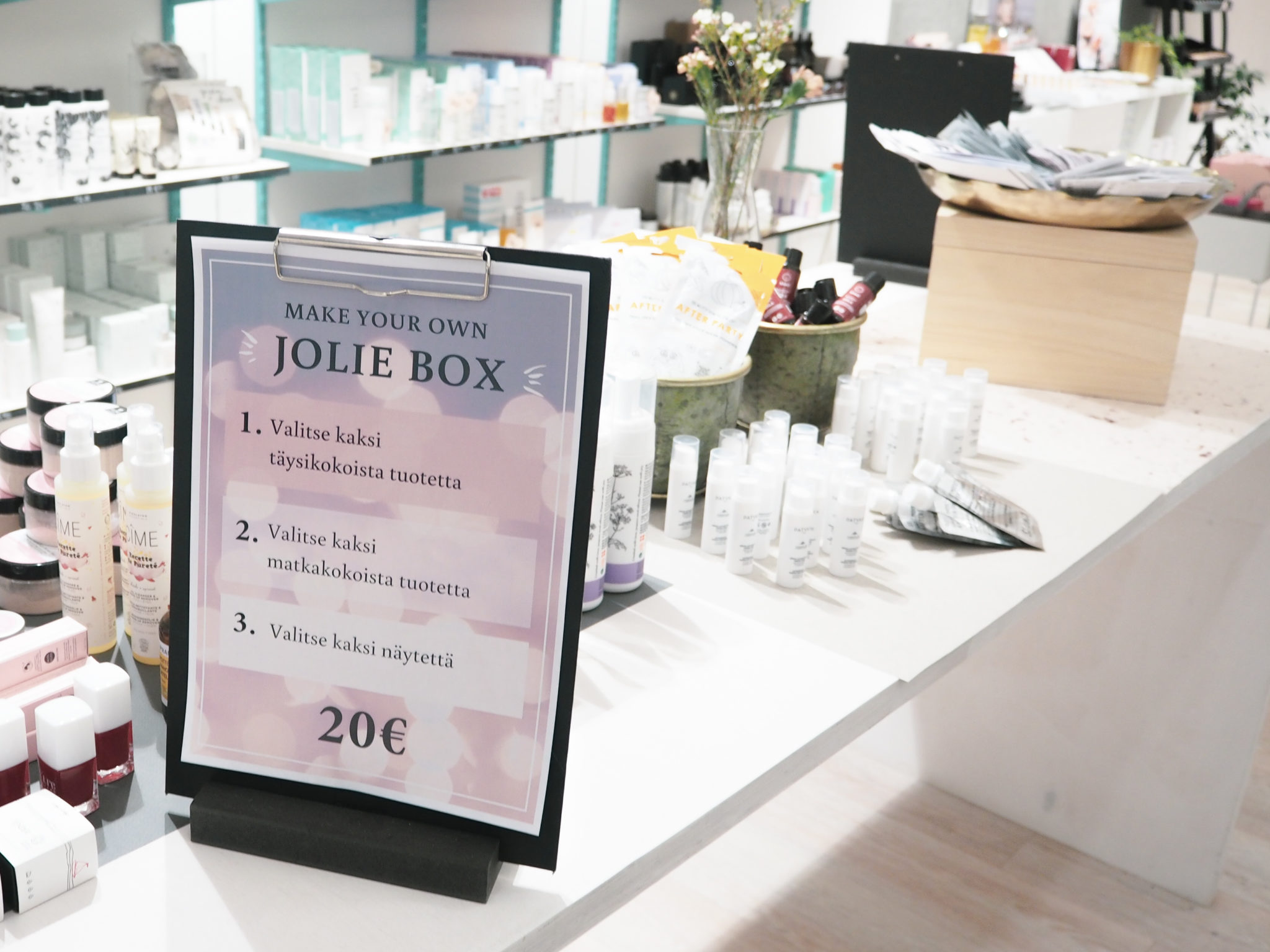 Make Your Own Jolie Box