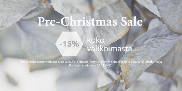 Pre-Christmas Sale 2016