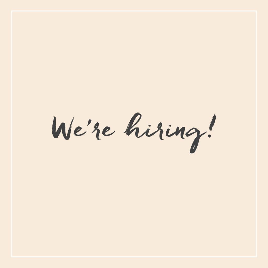Etsimme työntekijää - We are hiring