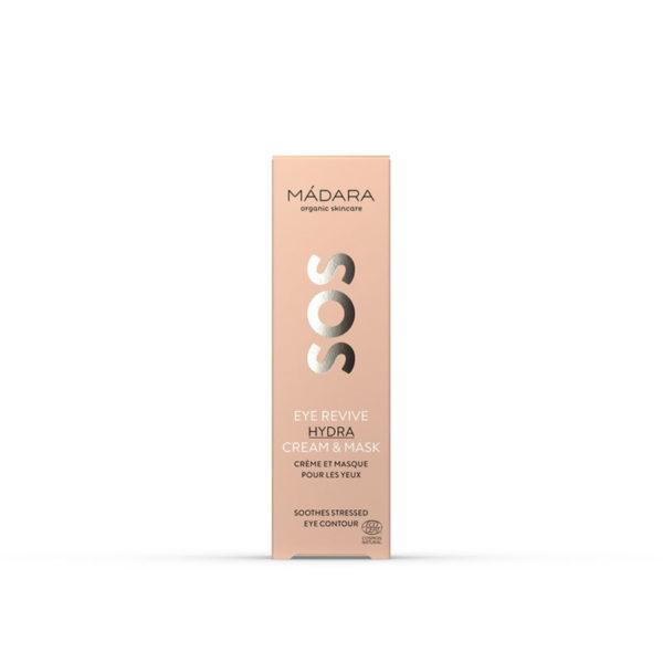 Pehmeä, ihoa kosteuttava ja rauhoittava voide tuo välitöntä apua kuivalle, kiristävälle ja ärtyneelle silmänympärysiholle. Kermainen tuote sopii sekä silmänympärysvoiteen että -naamion tavoin käytettäväksi. Silmänympärysihon ollessa jopa neljä kertaa ohuempaa kuin muualla kasvoilla, se reagoi sisäisiin ja ulkoisiin stressitekijöihin hyvin helposti. SOS-voide rauhoittaa ihoärsytyksiä, vahvistaa ihon omaa suojakerrosta sekä ehkäisee ikääntymisen merkkejä. Täydellinen pika-apu jo hätähuudon esittäneelle iholle sekä ennaltaehkäisevään hoitoon.